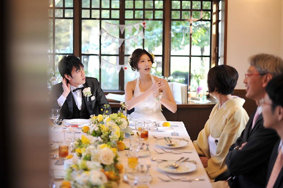ご家族婚には有形文化財でのお食事がオススメ!お二人の思い出も文化財とともに永遠に残されていくでしょう♪