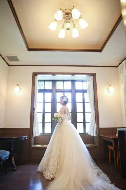 洋館×アンティーク×おしゃれ♪ ドレスにこだわりたい花嫁に嬉しい雰囲気いっぱい♪