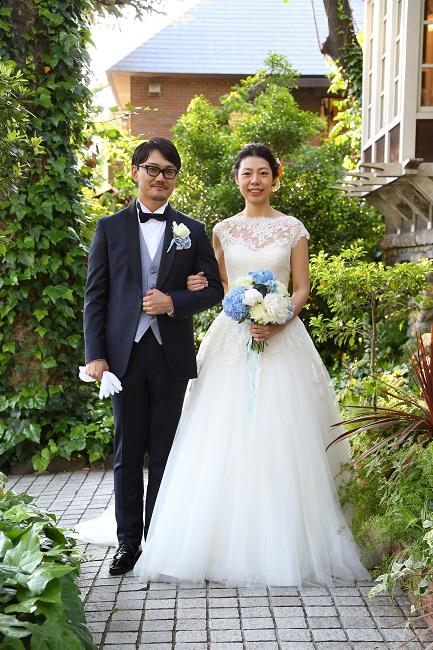 super simple wedding 挙式編 東京での結婚式 ガーデン
