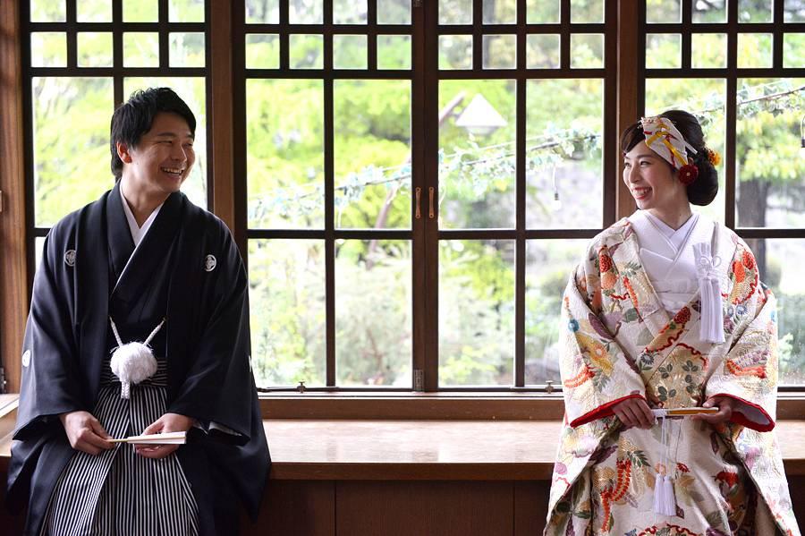 東京都指定有形文化財の至極の雰囲気は和装にBest マッチ♪